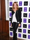 Made In Chelsea's Millie Mackintosh is sexy in leather at charity fashion event in London