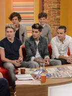 One Direction chat about Justin Bieber, dancing and new single Live While We're Young on Daybreak