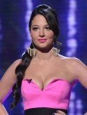Tulisa Contostavlos gets in a twist on The X Factor 