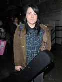 Lucy Spraggan joins The X Factor contestants in London ahead of the next live show