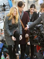 Blake Lively, Penn Badgley and Michelle Trachtenberg | Celebrity Spy | Pictures | Photos | New | Celebrity News