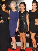 Little Mix dress up for magazine awards bash in London with McFly