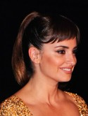 Get Penelope Cruz's sexy sleek Skyfall ponytail