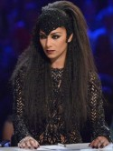 Nicole Scherzinger stuns in a sexy sheer catsuit on Halloween X Factor special