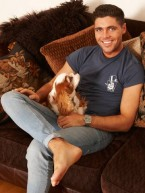 At home with Tom Pearce