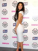 It's a sexy LWD-off (little white dress that is) but The X Factor's Nicole Scherzinger wins hands down