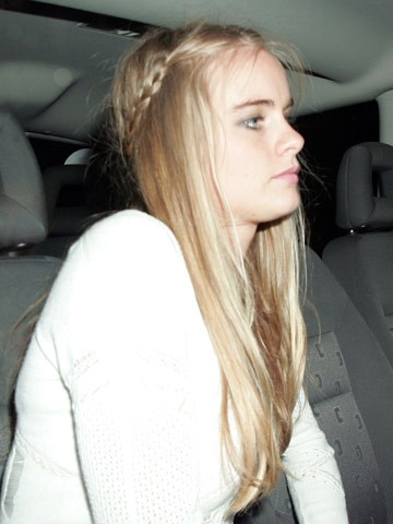 Caught! Prince Harry's squeeze Cressida Bonas kisses a girl - what will the Queen say? - now