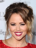 Kimberley Walshs Strictly sexy up-do