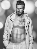 David Beckham shows off hot body and sexy tattoos as he models new Christmas H&M underwear collection