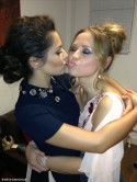 Cheryl Cole cheers on 'amazing' Kimberley Walsh as Fern Britton is voted off Strictly Come Dancing