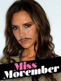 OMG! Kate Middleton, Cheryl Cole, Katie Price, Jennifer Aniston and Victoria Beckham have all got moustaches!