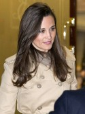 Pippa Middleton visits sister Kate Middleton in hospital