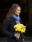 Kate Middleton leaves hospital