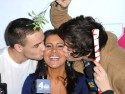 What would Taylor Swift say? Harry Styles kisses pretty brunette in New York with One Direction