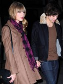 One Direction's Harry Styles spends night at Taylor Swift's then goes grocery shopping with her mum