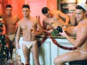 Geordie Shore boys get naked for Now