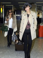 Vanessa White and Frankie Sandford | Heathrow | London | Pictures | Photos | New | Celebrity News