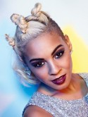 The X Factor's Jade Ellis tries out tight topknots