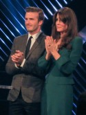Kate Middleton and David Beckham meet up at the BBC Sports Personality Of The Year Awards 2012
