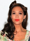 Myleene has quite a party trick