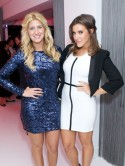 Made In Chelsea girls party with TOWIE boys at perfume bash in London