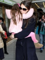 Katie Holmes and Suri Cruise | Celebrity Spy | Pictures | Photos | New | Celebrity News
