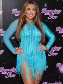 Lauren Goodger denies being warned by Dancing On Ice bosses for bad behaviour