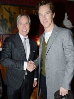 Tommy Hilfiger and Benedict Cumberbatch | London Collections | photos | pictures | new | celebrity news
