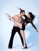 I reckon Olympic medalist Beth Tweddle won Dancing On Ice because she didn't have a romance like Samia Ghadie!