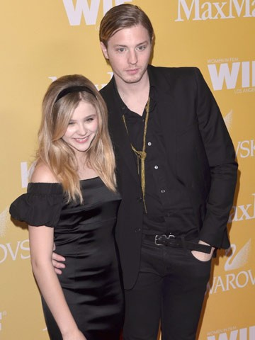 Chloe Grace Moretz and Brother