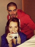 Max George denies dating Lindsay Lohan after intimate Instagram photo