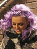 Little Mix star Perrie Edwards' purple hair secrets revealed