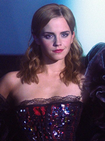 Emma Watson wore a corset to perform a song from The Rocky Horror    Emma Watson Rocky Horror