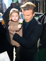 David Beckham and Harper Seven | New York | Pictures | Photos | new | Celebrity News 