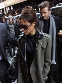 David and Victoria Beckham enjoy lunch date with Harper Seven during New York Fashion Week