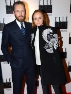 Stars dress up to party at Elle Style Awards in London