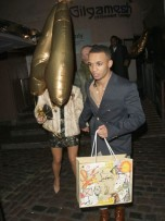 Aston Merrygold and Sarah Richards | Aston's birthday bash | Pictures | Photos | New | Celebrity News