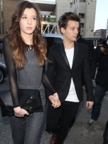 Louis Tomlinson and Eleanor Calder | Topshop Show | London | Fashion Week 2013 | Pictures | Photos | New | Celebrity News