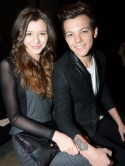 Cute! One Direction's Louis Tomlinson treats girlfriend Eleanor Calder to afternoon tea on Orient Express
