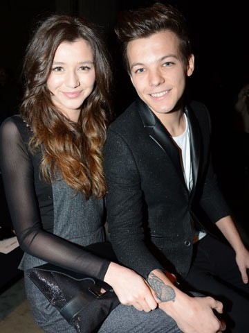 Louis Tomlinson with Girlfriend Eleanor Calder