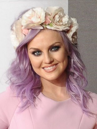 OMG! Perrie Edwards gives One Direction's Zayn Malik rock chick manicure as he sleeps