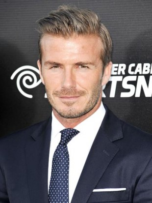 OMG! Is David Beckham's hair turning grey at 38?