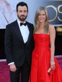 Jennifer Aniston: Justin Theroux is constantly scaring me by hiding behind curtains