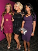 TOWIE cast party with TV stars at Gilgamesh in London