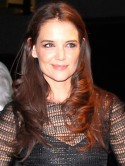 Katie Holmes poses topless and says: I'm open to having more kids after Tom Cruise split
