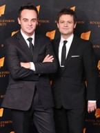 British soap stars join Ant And Dec on TV awards red carpet