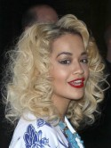 Rita Ora goes for a supersized curl for night out in Vegas