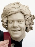 One Direction clay heads revealed as Madame Tussauds waxworks nearly ready