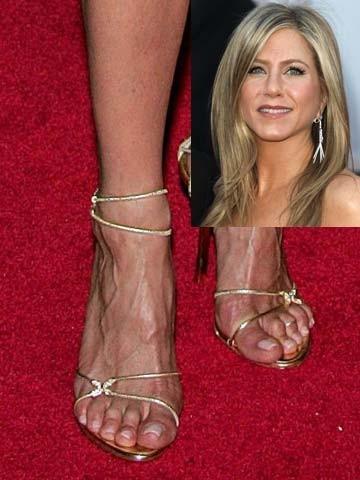 Jennifer Aniston Weird Celebrity Feet Pictures S New
