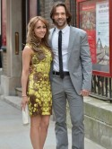 Samia Ghadie takes boyfriend Sylvain Longchambon to Coronation Street star Helen Worth's wedding